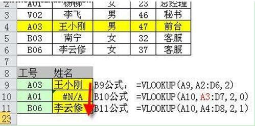 vlookup函数出现错误怎么办 vlookup函数常见错误有哪些